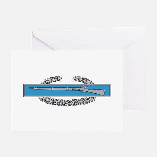 Combat Infantry Badge Greeting Cards