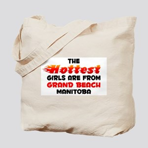 Hot Girls: Grand Beach, MB Tote Bag