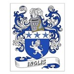 Inglis Coat of Arms Small Poster