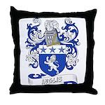 Inglis Coat of Arms Throw Pillow