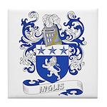 Inglis Coat of Arms Tile Coaster