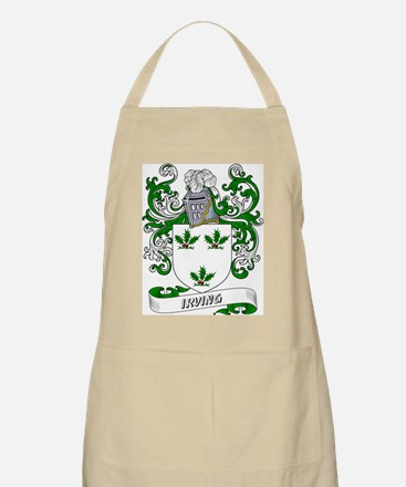 Irving Coat of Arms BBQ Apron