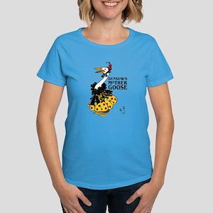 DENSLOW'S Mother Goose Women's Dark T-Shirt