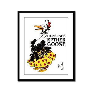 DENSLOW'S Mother Goose Framed Panel Print