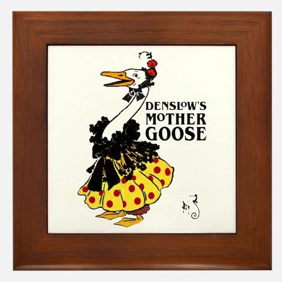 DENSLOW'S Mother Goose Framed Tile