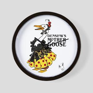 DENSLOW'S Mother Goose Wall Clock