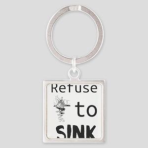 Refuse to Sink Keychains