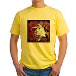 Cat Taurus Yellow T-Shirt