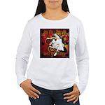 Cat Taurus Women's Long Sleeve T-Shirt