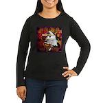 Cat Taurus Women's Long Sleeve Dark T-Shirt