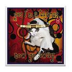 Cat Taurus Tile Coaster