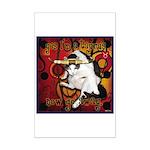 Cat Taurus Mini Poster Print