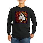 Cat Taurus Long Sleeve Dark T-Shirt