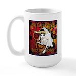 Cat Taurus Large Mug