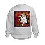 Cat Taurus Kids Sweatshirt