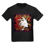 Cat Taurus Kids Dark T-Shirt