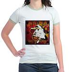 Cat Taurus Jr. Ringer T-Shirt