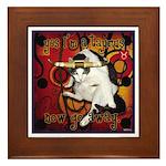 Cat Taurus Framed Tile
