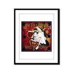 Cat Taurus Framed Panel Print