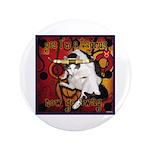 "Cat Taurus 3.5"" Button"
