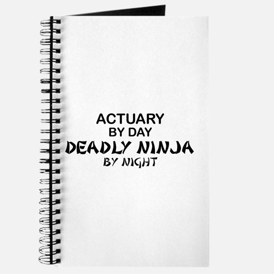 Actuary Deadly Ninja Journal
