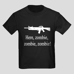 here, zombie Kids Dark T-Shirt