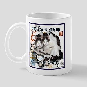 Cat Gemini Mug