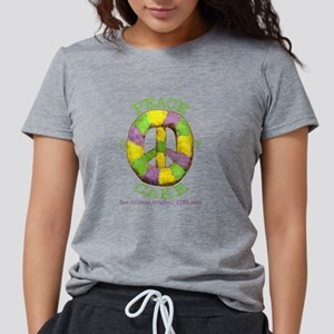 Peace of 'King' cake Women's Dark T-Shirt