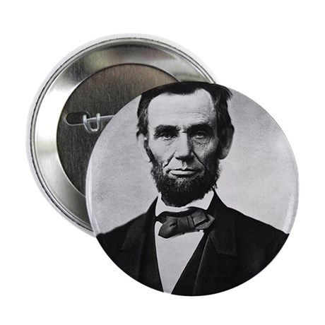 "Honest Abe - Abraham Lincoln 2.25"" Button (10 pack"