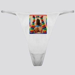 #0045 Taste the RAINBOW Classic Thong