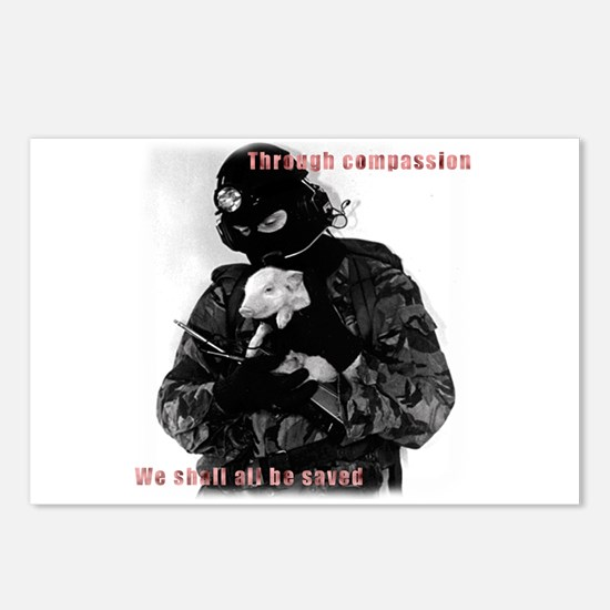 Animal Liberation Postcards (Package of 8)