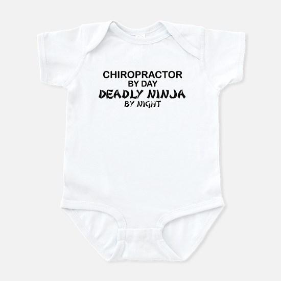 Chiropractor Deadly Ninja Infant Bodysuit