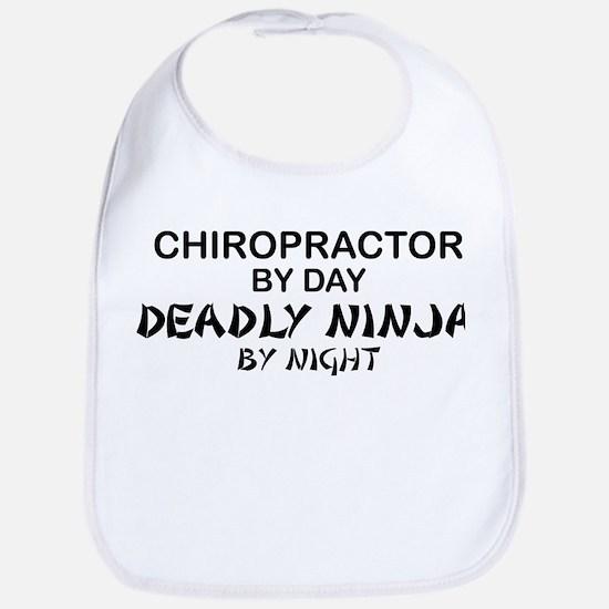 Chiropractor Deadly Ninja Bib