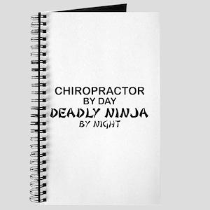 Chiropractor Deadly Ninja Journal