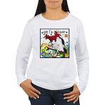 Cat Cancer Women's Long Sleeve T-Shirt