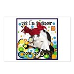 Cat Cancer Postcards (Package of 8)