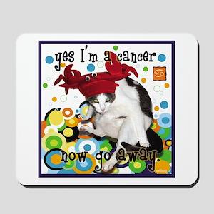 Cat Cancer Mousepad