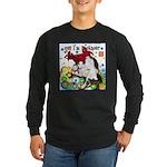 Cat Cancer Long Sleeve Dark T-Shirt