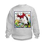 Cat Cancer Kids Sweatshirt