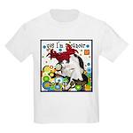 Cat Cancer Kids Light T-Shirt