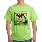Cat Cancer Green T-Shirt