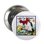 """Cat Cancer 2.25"""" Button (10 pack)"""