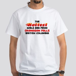 Hot Girls: Okanagan Fal, BC White T-Shirt