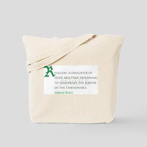 Hope & Fear Tote Bag