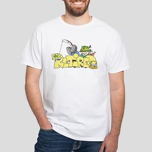 Retired White T-Shirt