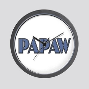 CLICK TO VIEW Papaw Wall Clock