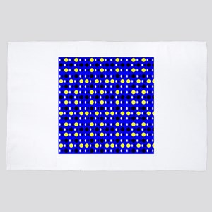 Blue Yellow Perception 4Andre 4' x 6' Rug