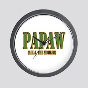 Click to view PAPAW military Wall Clock