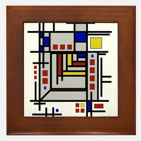 Unique Wright Framed Tile
