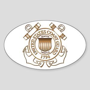 USCG Oval Sticker